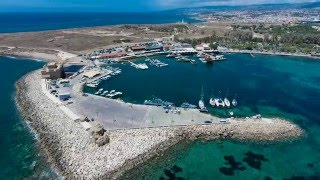Paphos Cyprus  city photos gallery : Kato Paphos,Cyprus - A holiday with many attractions .. Beautiful Aerial Video