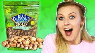 Irish People Try Gourmet American Nuts