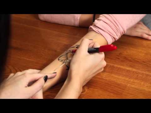 Temporary Tattoo Kit - How To Guide (Temporary Tattoo Pen Instructions)