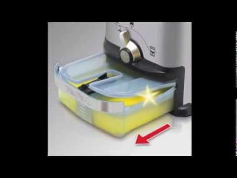 Tefal FR 7013 Oleoclean Inox und Design Kaltzonen-Fritteuse Test