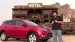 Test Drive: 2013 Toyota RAV4 XLE Off-road In Superstition Mountains