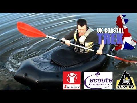 UK Coastal Trek - Alpacka Raft Maiden Voyage