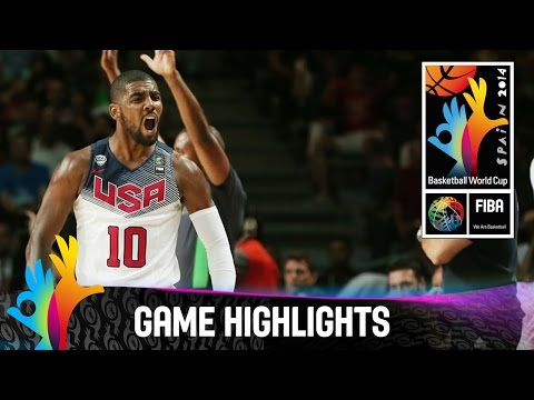 USA - Watch the game highlights of the 2014 FIBA Basketball World Cup final between the USA and Serbia. The 2014 FIBA Basketball World Cup took place in Spain from...