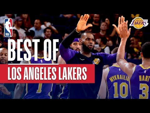 Video: Best of the LA Lakers 1st Win vs Suns | October 24, 2018