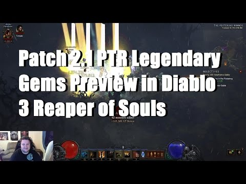 Legendary Gems Preview in Patch 2.1 PTR