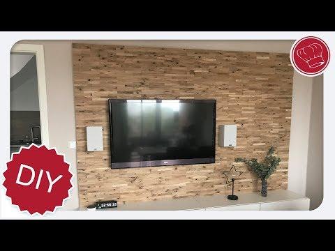 DIY Holz Wohnwand selber machen | elegant-kochen.de