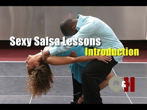 Сальса: базовые шаги. Курс уроков видео обучения.