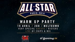 All-Star Games Warm Up Party @ Meltdown samedi 19/04