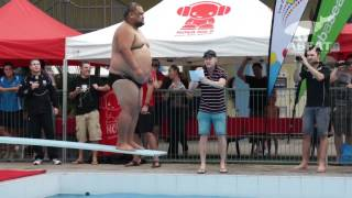 Belly flop highlights: Aussie Dugongs vs NZ Puku Plungers