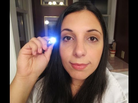 Eye Examination Role Play for Relaxation (ASMR)