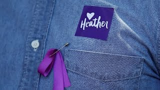 A service for Heather Heyer was held in downtown Charlottesville, Va. The 32-year-old was killed when a car rammed into a crowd of people protesting a white ...