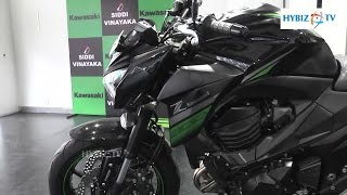 7. 2016 kawasaki Z800 ABS Naked Motorcycle Review - hybiz
