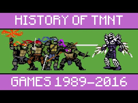 History of TMNT Games 1989-2016