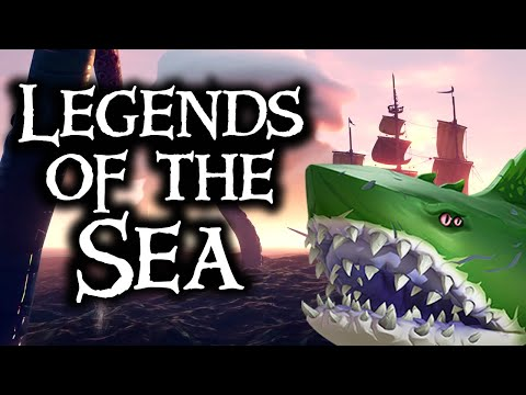 LEGENDARY SEA MONSTERS OF THE SEAS // SEA OF THIEVES - New and interesting ways to die!