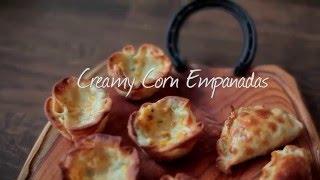 How to Make Creamy Corn Empanadas