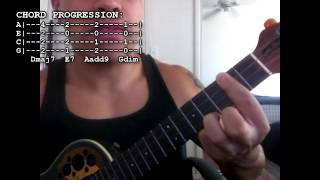 Jeremy Passion - Lemonade (Ukulele Tutorial)