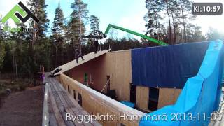 Video: Byggplats: Hammarö 2013-11-05