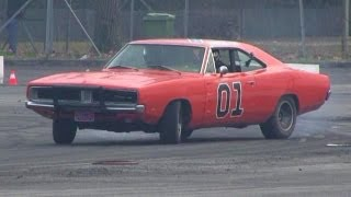 The General Lee Trying Drifting - Dodge Charger R/T Drift&SOUND!!