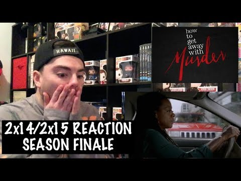 HOW TO GET AWAY WITH MURDER - 2x14/2x15 'THERE'S MY BABY/ANNA MAE' REACTION