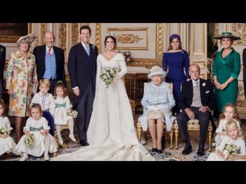 Princess Eugenie & Jack Release FOUR NEW OFFICIAL Royal Wedding Photographs!