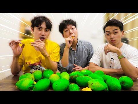 Người Hàn mua 200k Xoài Keo Việt Nam ăn thử và cái kết ??? - Thời lượng: 10 phút.