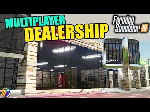 FS19 Placeable Dealership / Show Room v2.0