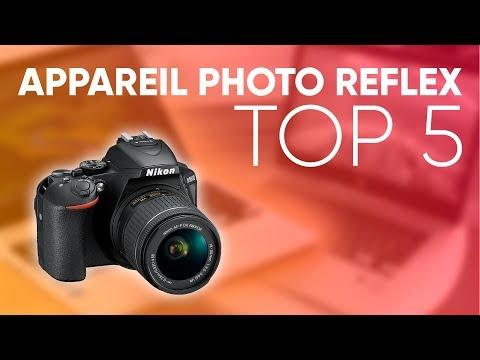 TOP5 : MEILLEUR APPAREIL PHOTO REFLEX (2018)