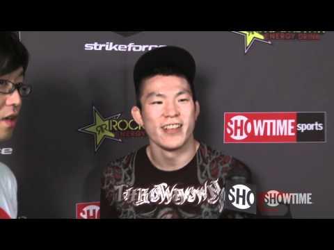 Shinya Aoki  Post Fight  Strikeforce Diaz vs Daley  SHOWTIME Sports