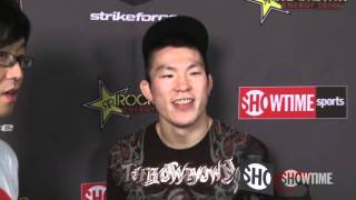 Shinya Aoki - Post Fight - Strikeforce: Diaz vs. Daley - SHOWTIME