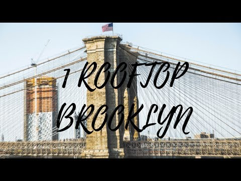 0 Le 1 rooftop, l'un des meilleurs rooftops de Brooklyn à mes yeux !