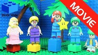 Lego Mario Party Funny Parody Movie - Funny Video - Lego Wario - Lego Luigi - Lego Peach