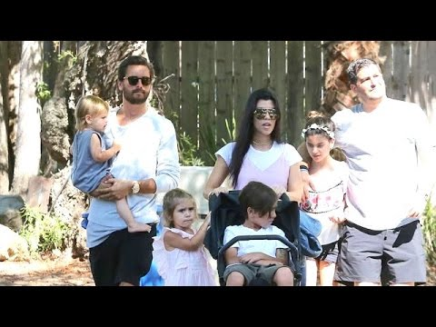 Kourtney Kardashian Gets The Family Back Together For Father's Day With Scott
