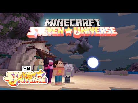 Steven Universe  Steven Universe x Minecraft Mash-Up  Cartoon Network