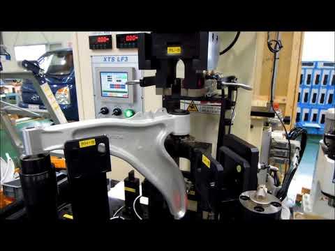 탁상형 유압프레스 10톤을 활용한 컨트롤암 핀 압입기(Control Arm Pin Insertion M/C)