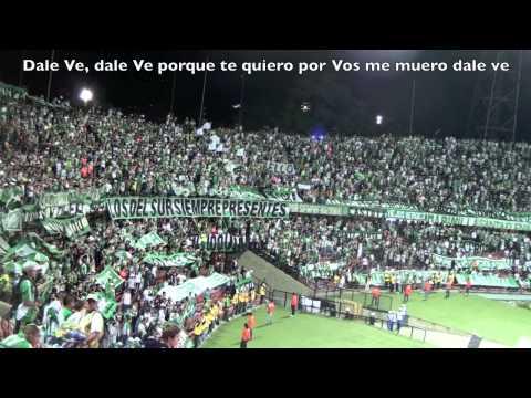 Fecha 4 Cuadrangulares 2012 Nacional 1 - 0 Itagui Canticos Los Del Sur - Los del Sur - Atlético Nacional