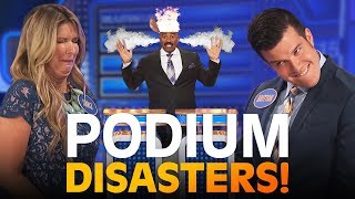 Video Mind-blowing PODIUM DISASTERS!! Steve Harvey LOSES IT!! | Family Feud MP3, 3GP, MP4, WEBM, AVI, FLV Desember 2018