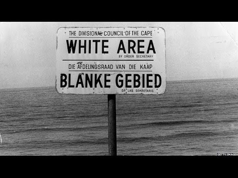 APARTHEID 46 YEARS IN 90 SECONDS - BBC NEWS