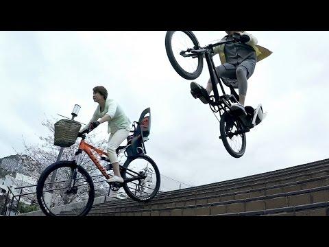 Clip quảng cáo như phim hành động của Nhật Bản :v