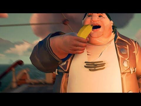 This Sea of Thieves video feels like a fever dream