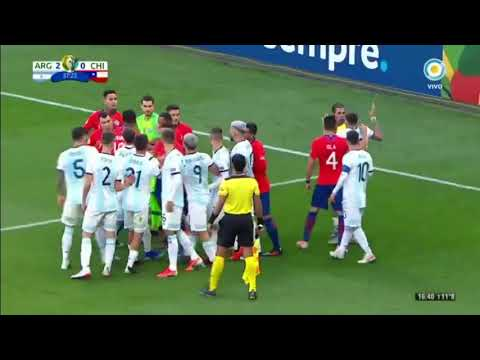 Argentina 2 Chile 1 - Copa América 2019