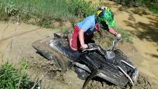 9. yamaha wolverine 350 mudding at four seasons resort