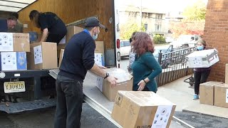 Donations of surgical and medical equipment to Armenia from the State of New Jersey, USA