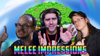 Melee Personalities Do Impressions of Other Melee Personalities