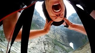 GoPro: Jeb Corliss Flies Through Tianmen Cave - YouTube