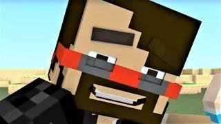 "Minecraft Songs and Minecraft Animation ""Hey CaptainSparklez"" Minecraft Songs Ft. CaptainSparklez"