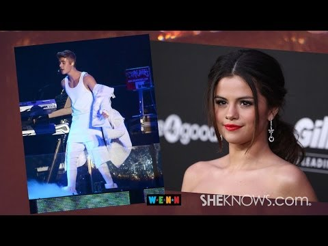 Justin Bieber and Selena Gomez Reunite to Perform Sexy Dance Routine – The Buzz