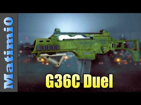 duel - Today I'm using the G36C and having a duel with Levelcap in Battlefield 4. Double vision is a series where Levelcap and I switch between our viewpoints throughout the round. Enjoy. LevelCap:...