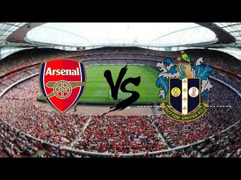 Sutton United VS Arsenal (ao vivo) #1knocanal:singleplays_HD)