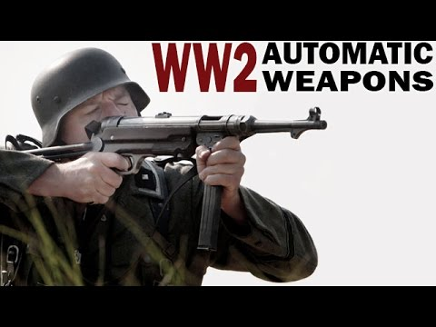 "Video. Instructivo para las tropas norteamericanas SGM ""American vs German Weapons"""