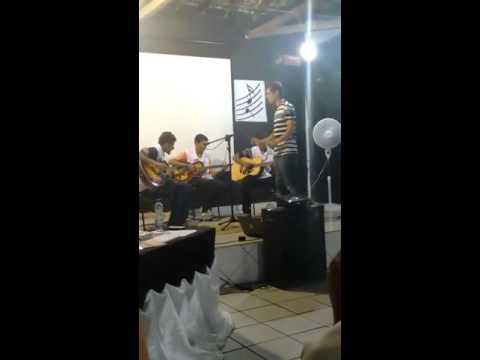 Bethoven em violões - (Projeto Tocar Guajerú) - professor Rafael Brito